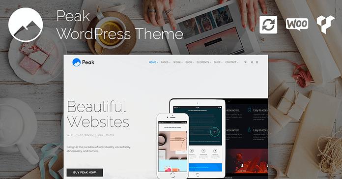 VisualModo Peak WordPress Theme