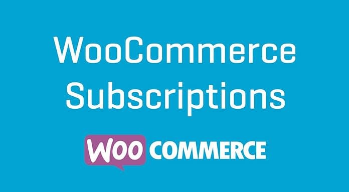WooCommerce Subscriptions WordPress Plugin