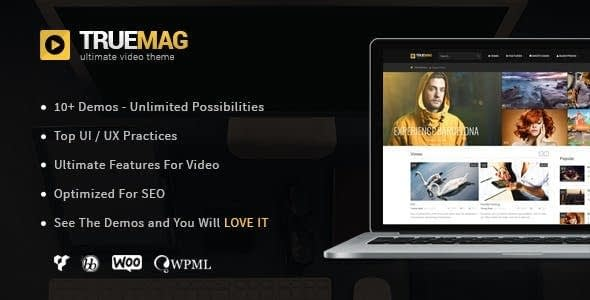 True Mag – WordPress Theme For Video And Magazine