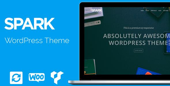 VisualModo Spark WordPress Theme