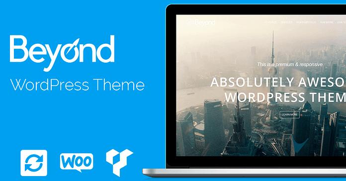 VisualModo Beyond WordPress Theme