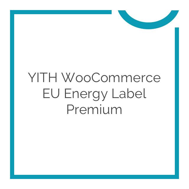 YITH WooCommerce EU Energy Label Premium