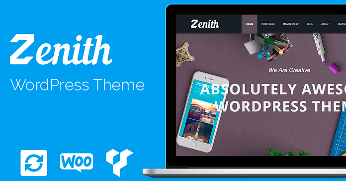 VisualModo Zenith WordPress Theme