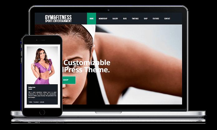 VisualModo Fitness WordPress Theme