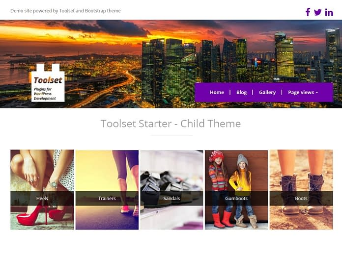 Toolset Starter Theme