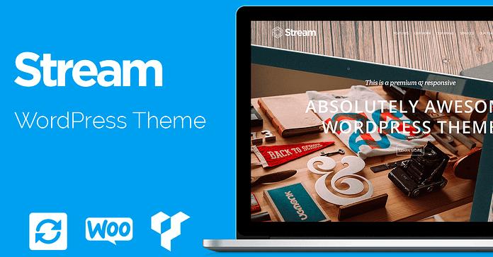 VisualModo Stream WordPress Theme