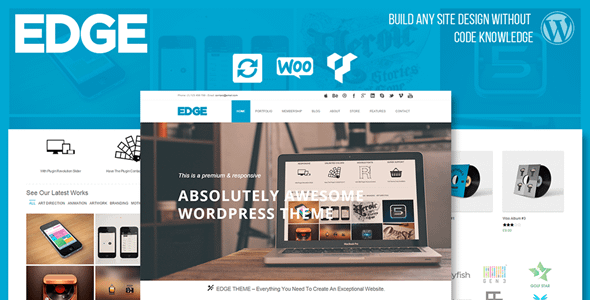 VisualModo Edge WordPress Theme