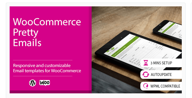 WooCommerce Pretty Emails Plugin