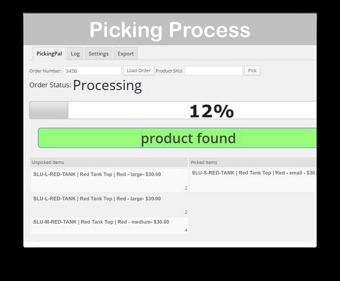 WooCommerce PickingPal Plugin