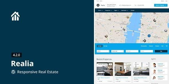 Realia - Responsive Real Estate WordPress Theme 4.3.1