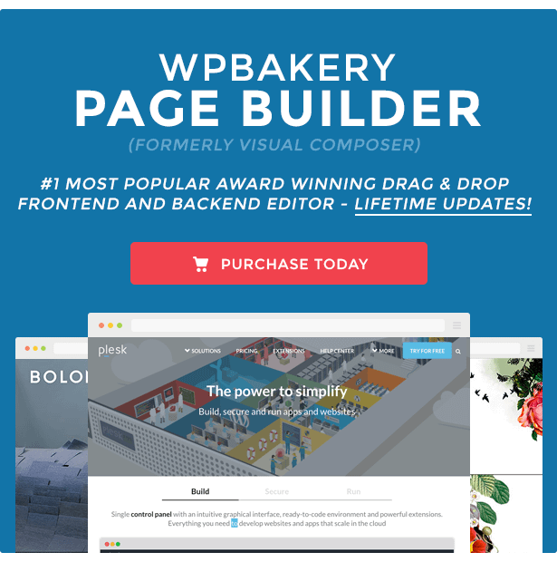 WPBakery Drag and drop wp page builder plugin free