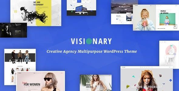 Visionary – Creative Agency Multipurpose WordPress Theme