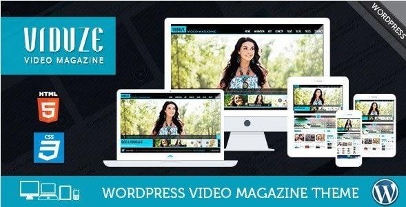Viduze – Video WordPress Theme