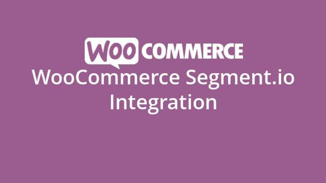 Woocommerce Segment.Io Integrations