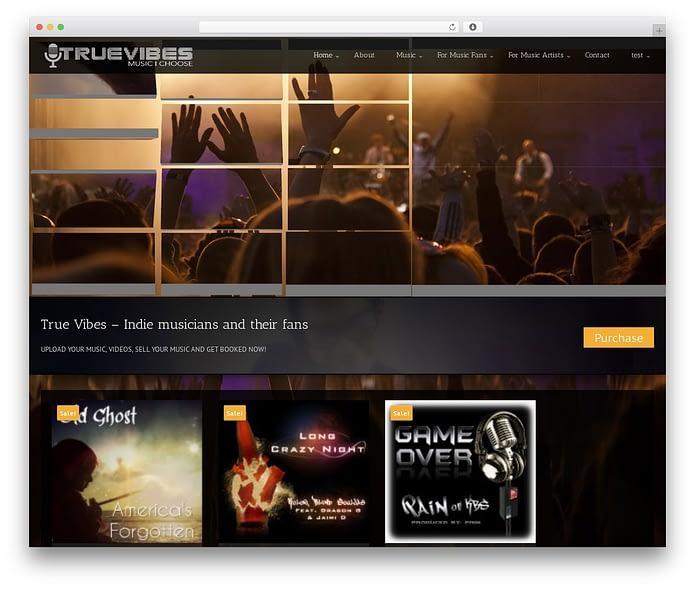 UNIK – Universal Music Responsive WordPress Theme