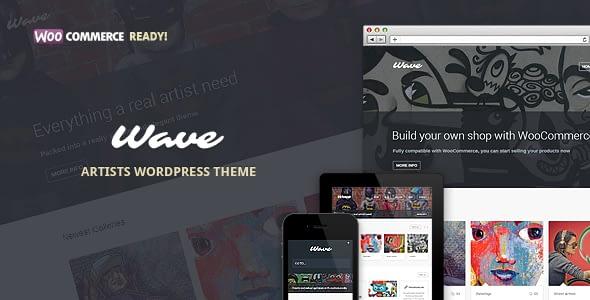 Wave – WordPress Theme For Artists