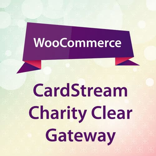 WooCommerce CardStream & Charity Clear